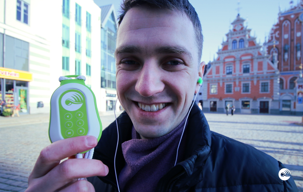 New version of Electronic Tour Guide in Riga